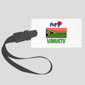 My Love Vanuatu Large Luggage Tag