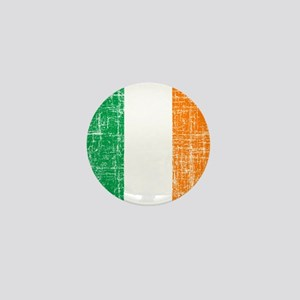 Vintage Irish Flag Mini Button