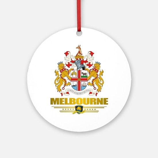"""""""Melbourne COA"""" Ornament (Round)"""
