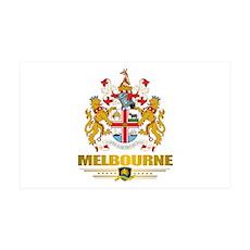 """Melbourne COA"" 38.5 x 24.5 Wall Peel"