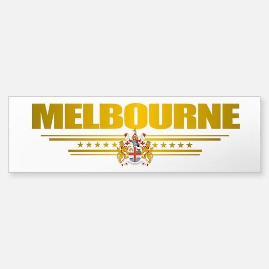 """Melbourne COA"" Sticker (Bumper)"