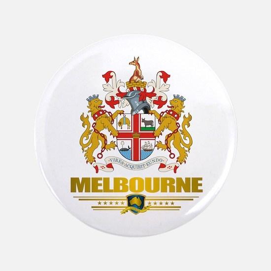 """""""Melbourne COA"""" 3.5"""" Button"""