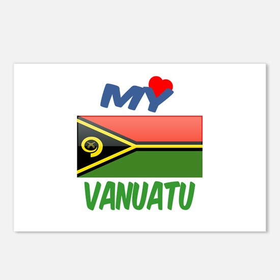 My Love Vanuatu Postcards (Package of 8)