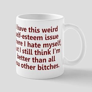 Self-Esteem Issues Mug