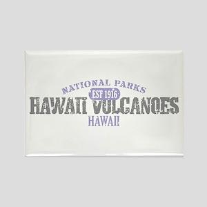 Hawaii Volcanoes Nat Park Rectangle Magnet