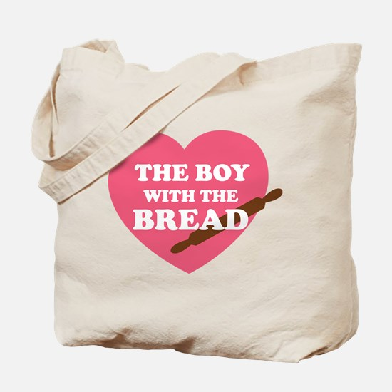 HG Boy with the bread Tote Bag