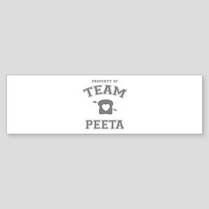 HG Team Peeta Sticker (Bumper)