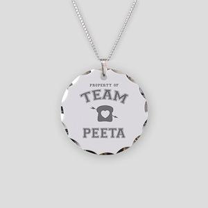 HG Team Peeta Necklace Circle Charm