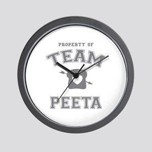 HG Team Peeta Wall Clock