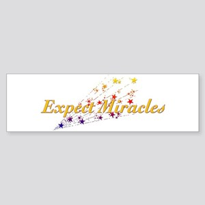 Expect Miracles Sticker (Bumper)
