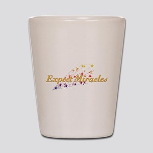 Expect Miracles Shot Glass