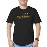 Expect Miracles Men's Fitted T-Shirt (dark)