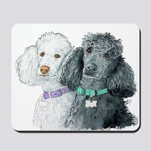Two Poodles Mousepad