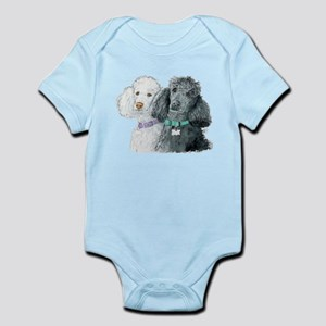 Two Poodles Infant Bodysuit