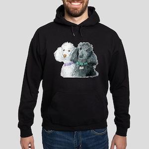 Two Poodles Hoodie (dark)
