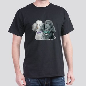 Two Poodles Dark T-Shirt