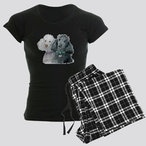 Two Poodles Women's Dark Pajamas
