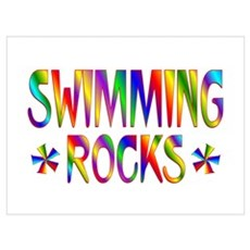Swimming Wall Art Canvas Art