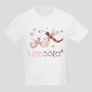 Little Sister Dragonfly Kids Light T-Shirt