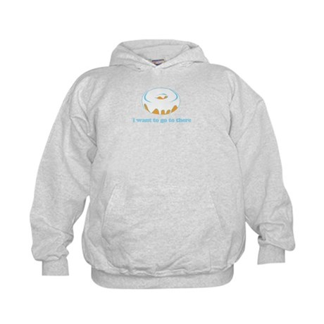 I Want To Go There Donuts Kids Hoodie
