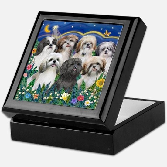 7 Shih Tzu Cuties Keepsake Box