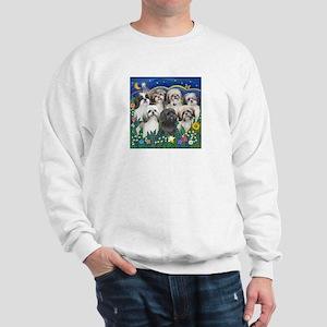 7 Shih Tzu Cuties Sweatshirt