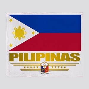 """Pilipinas"" Throw Blanket"