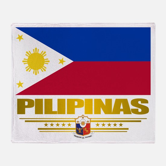 """Pilipinas"" Throw Blanket"