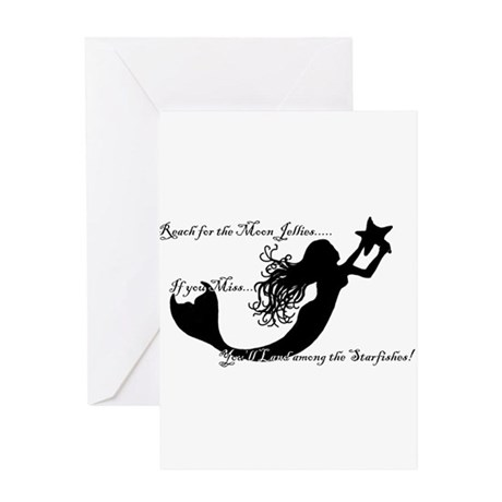 Reach for The Moon... Greeting Card