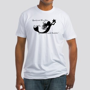 Reach for The Moon... Fitted T-Shirt