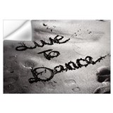 Live to dance Wall Decals