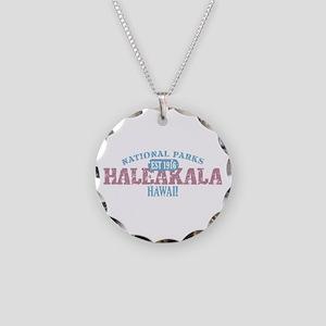 Haleakala National Park HI Necklace Circle Charm