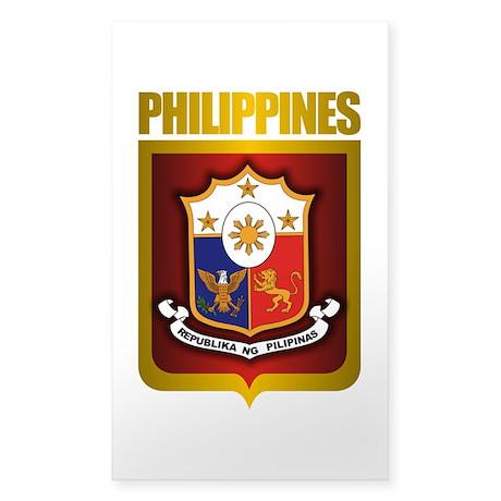 """Philippine Gold"" Sticker (Rectangle)"