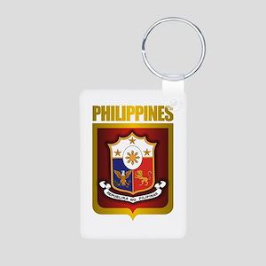 """Philippine Gold"" Aluminum Photo Keychain"