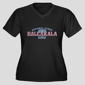 Haleakala National Park HI Women's Plus Size V-Nec