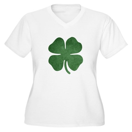 Shamrock Plus Size T-Shirt