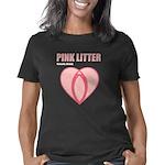 Pink Litter Heart Logo Women's Classic T-Shirt