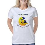 Blue Lions Logo Women's Classic T-Shirt