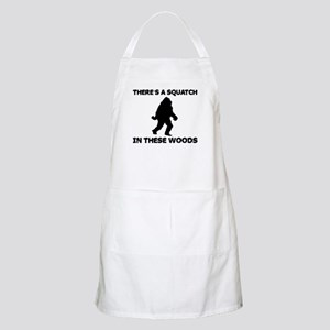 There's a Squatch in these wo Apron