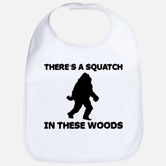 There's a Squatch in these wo Bib