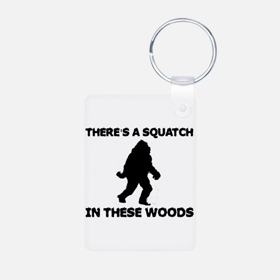 There's a Squatch in these wo Keychains