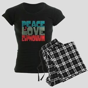 Peace Love Euphonium Women's Dark Pajamas