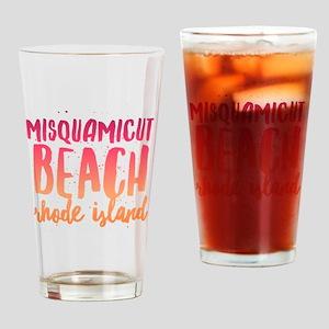 Misquamicut Beach Drinking Glass