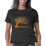 Automne Leaves Orange Women's Classic T-Shirt