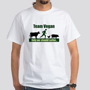 Team Vegan White T-Shirt
