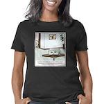 Flushed Goldfish Cartoon Women's Classic T-Shirt