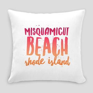 Misquamicut Beach Everyday Pillow