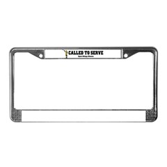 Spain Malaga LDS Mission Call License Plate Frame