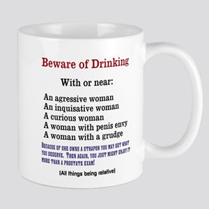 Beware of Drinking With Mugs