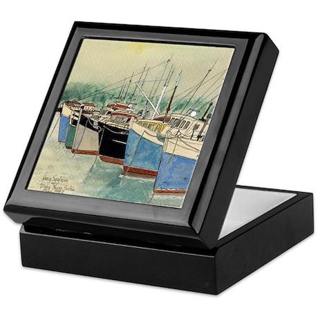 Digby N.S. Fishing Boats Keepsake Box